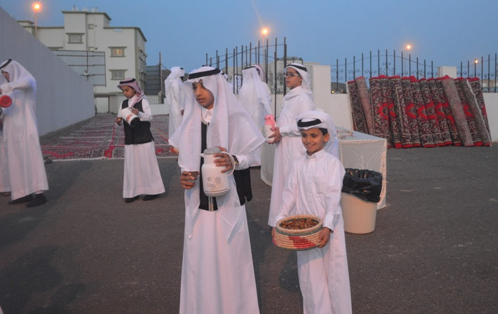 بطحاء الواديين تحتفل بالعيد بحضور ابنائها (2)