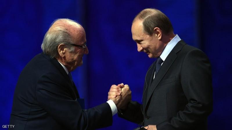 بلاتر - بوتين