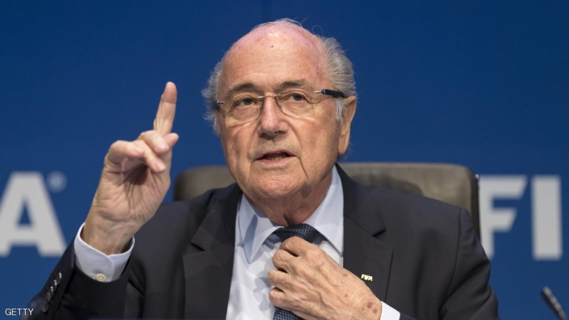 ZURICH, SWITZERLAND - MAY 30:  FIFA President Joseph S. Blatter talks to the press during the FIFA Post Congress Week Press Conference at the Home of FIFA on May 30, 2015 in Zurich, Switzerland.  (Photo by Alessandro Della Bella/Getty Images)