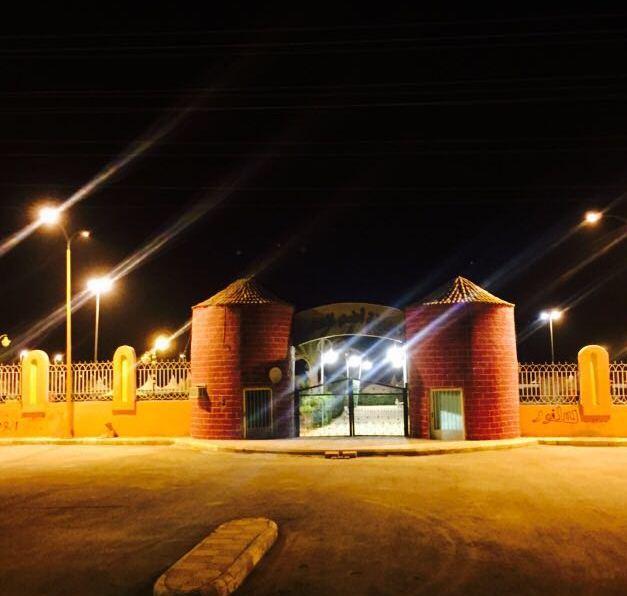 بلدية أضم تسْتقْبل العيد بالزينة وتجهيز الحديقة العامة (5)