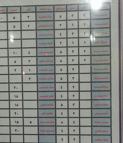 بلدية الداير تحدد أسعار الحلاقين (1)