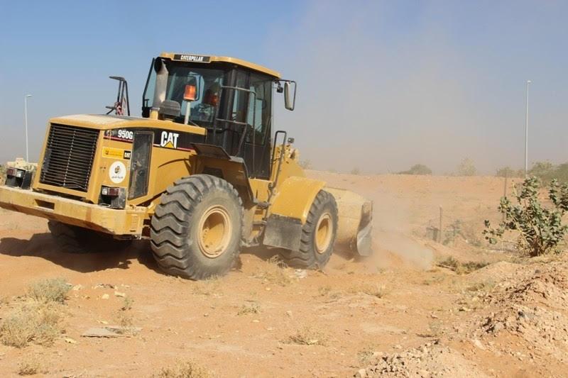 بلدية الدلم بعد إزالة تعديات 60 ألف متر 4