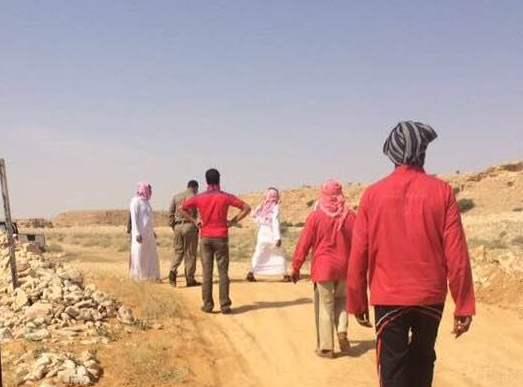 بلدية الدلم تزيل تعديات وادي ماوان (5)