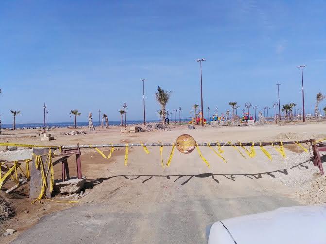 بلدية القوز تكشف حقيقة المقطع المنتشر للكورنيش الجديد
