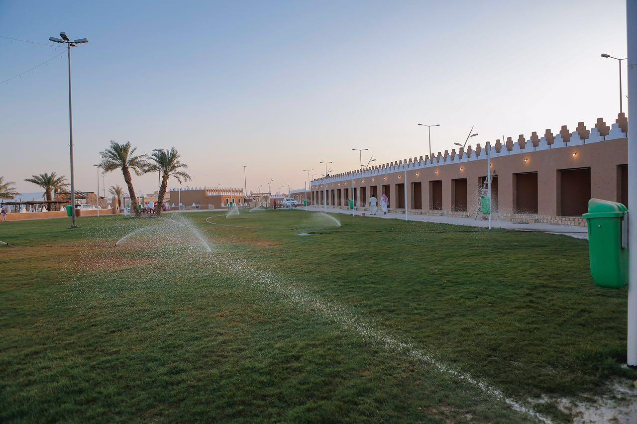 بلدية رياض الخبراء تنشئ قرية شعبية لتكون مقراً للمهرجانات (2)