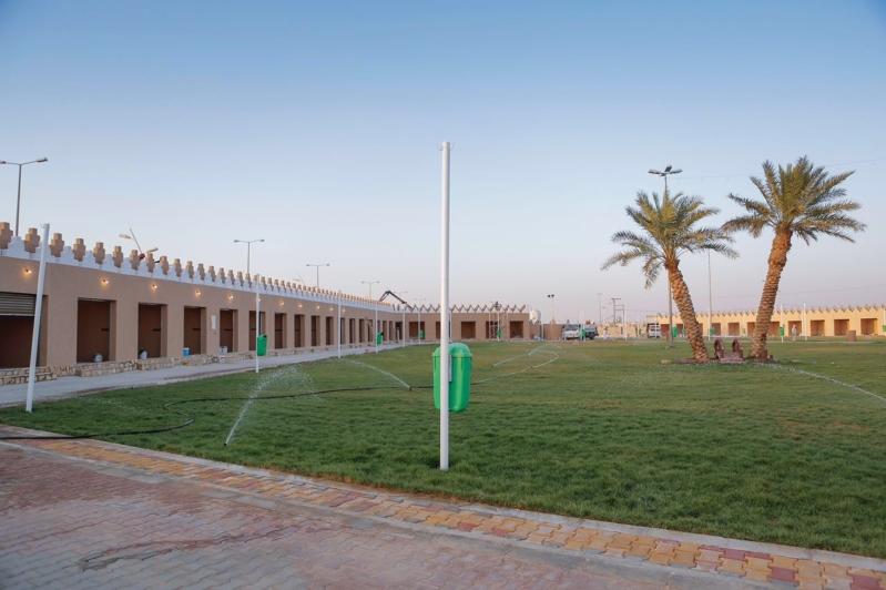 بلدية رياض الخبراء تنشئ قرية شعبية لتكون مقراً للمهرجانات (3)