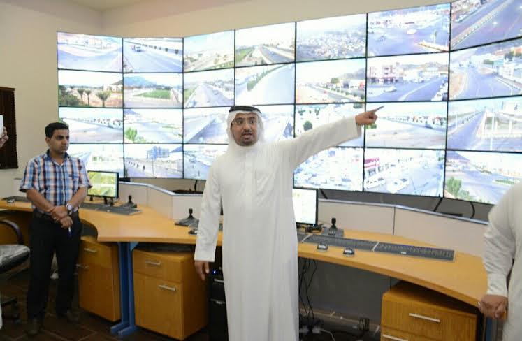 بلدية محايل تُطلق مشروع كاميرات المراقبة الأمنية