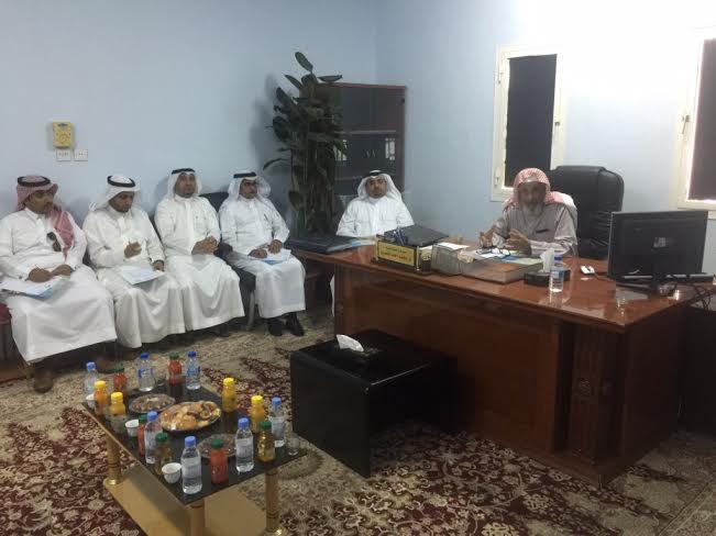 بلدي محايل يطالب أمين عسير في زيارة خاصة لمركز السعيدة1