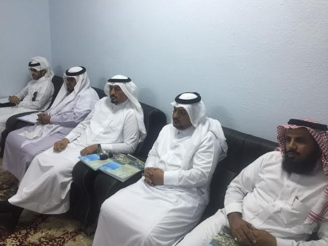بلدي محايل يطالب أمين عسير في زيارة خاصة لمركز السعيدة2
