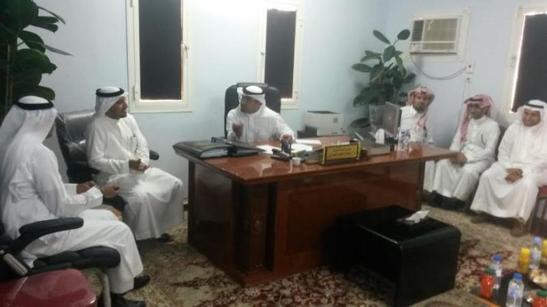 بلدي محايل يطالب أمين عسير في زيارة خاصة لمركز السعيدة5