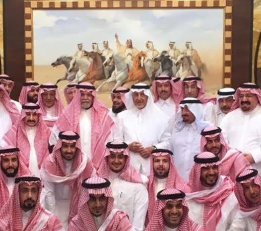 بندر بن سلطان في ضيافة الفيصل (1)