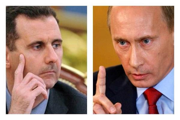 بوتين-و بشار الاسد