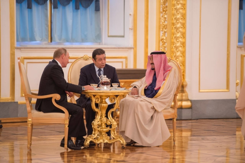 أولى ثمار الزيارة الملكية إلى روسيا : اللجنة العسكرية المشتركة تجتمع بالرياض