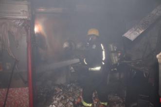 التماس كهربائي في مروحة يتسبب بحريق بوفية في #الطائف - المواطن