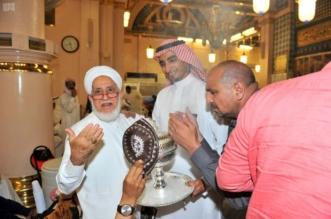 شاهد.. تبخير المسجد النبوي في أجواء رمضانية روحانية خالصة - المواطن