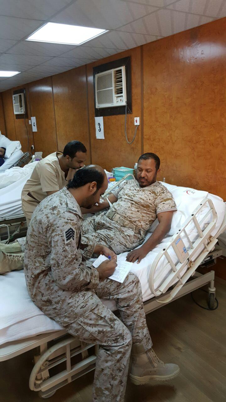 حملة للتبرع بالدم بمستشفى أحد المسارحة