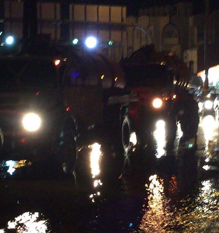 تجمعات مياه الامطار بمستشفى الملك فهد بـالباحة (4)