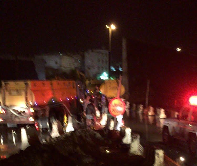 تجمعات مياه الامطار بمستشفى الملك فهد بـالباحة (6)