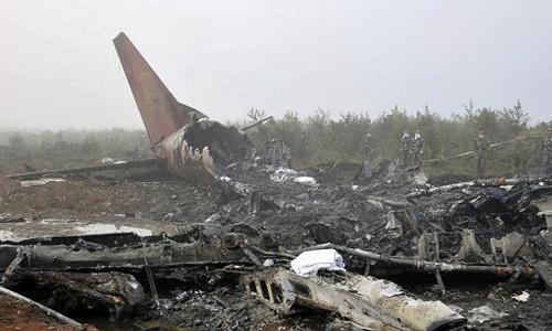 تحطم طائرة - ارشيفية