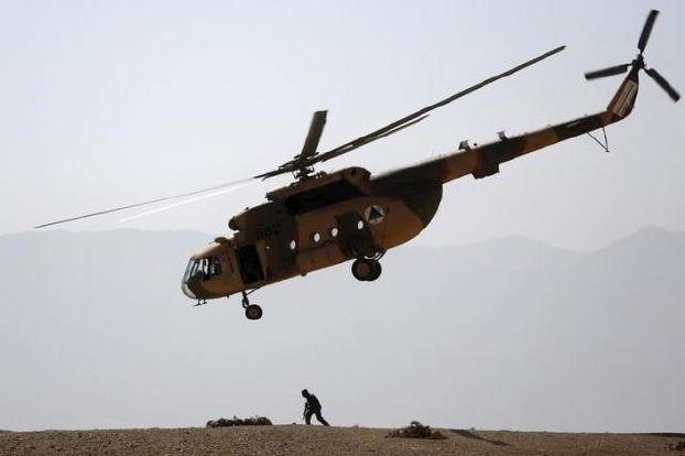 تحطم طائرة افغانية