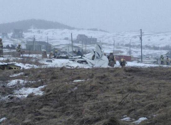 تحطم طائرة الوزير الكندى السابق جان لابيير وزوجته (2)