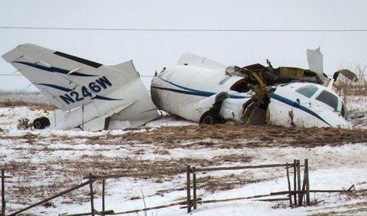 تحطم طائرة  الوزير الكندى السابق جان لابيير وزوجته (4)
