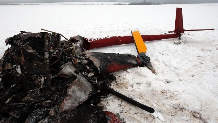 تحطم طائرة شمال روسيا