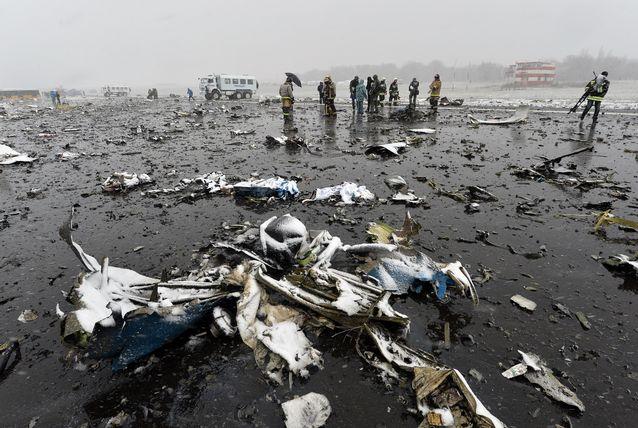 تحطم طائرة فلاي دبي بروسيا