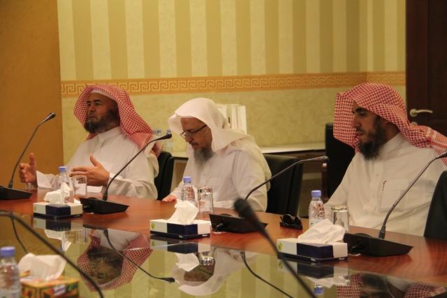 تحفيظ الرياض تبحث سبل التعاون مع جامعة اليمامة (1)