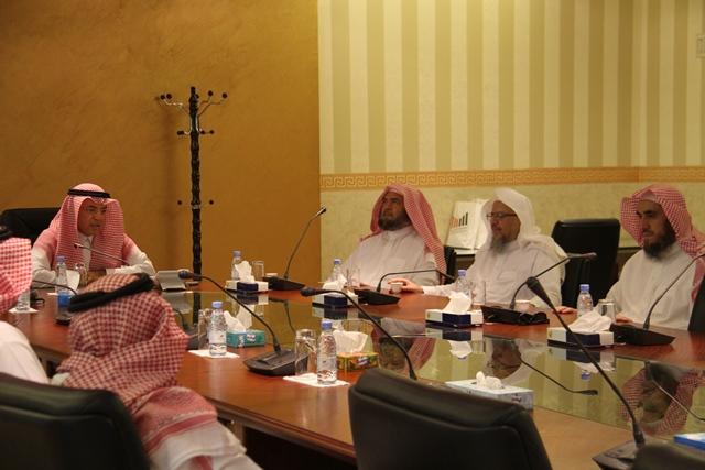 تحفيظ الرياض تبحث سبل التعاون مع جامعة اليمامة (3)