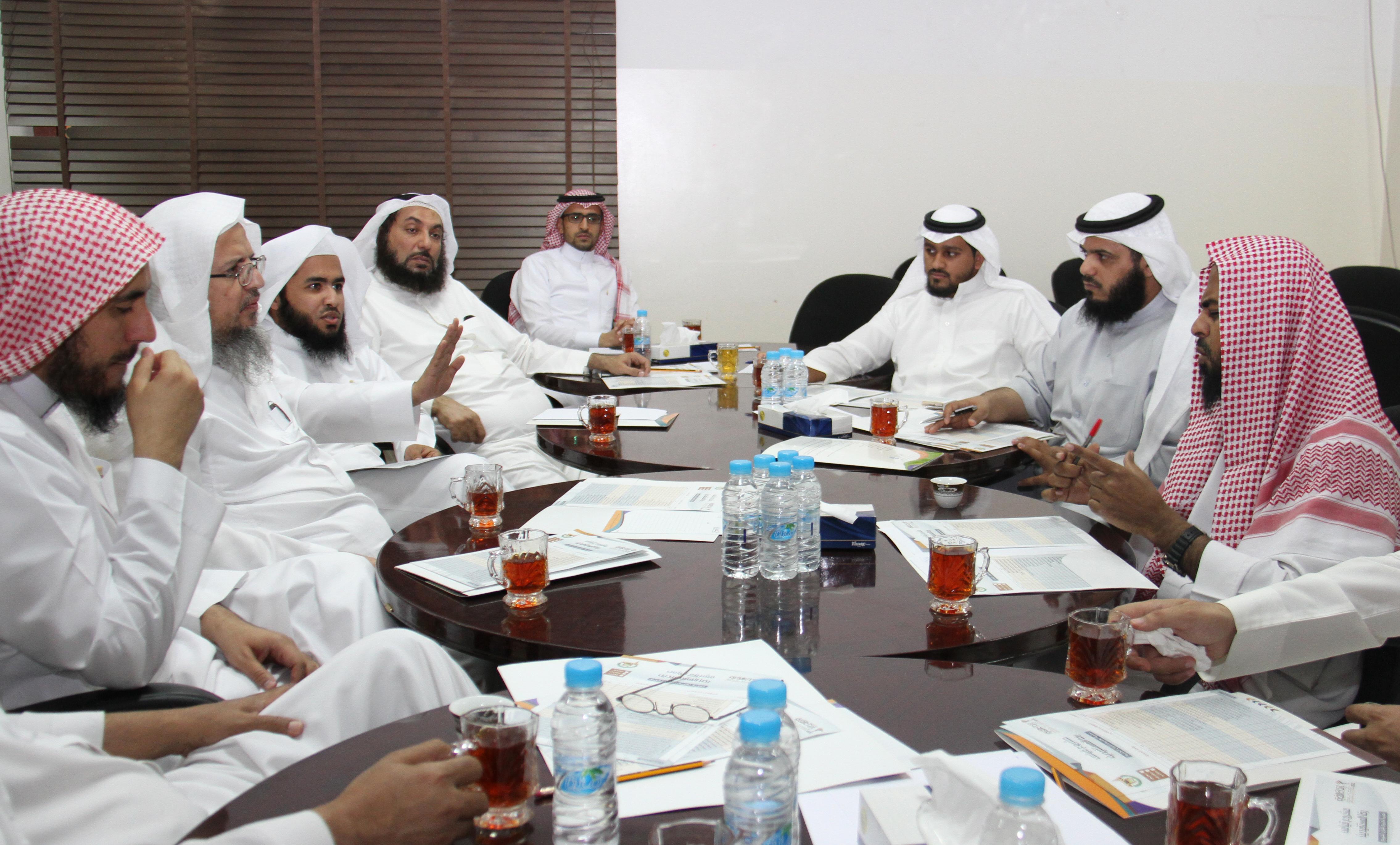 تحفيظ الرياض تنتهي من حصر نسبة قياس الرضا للقطاعات والميدان (3)