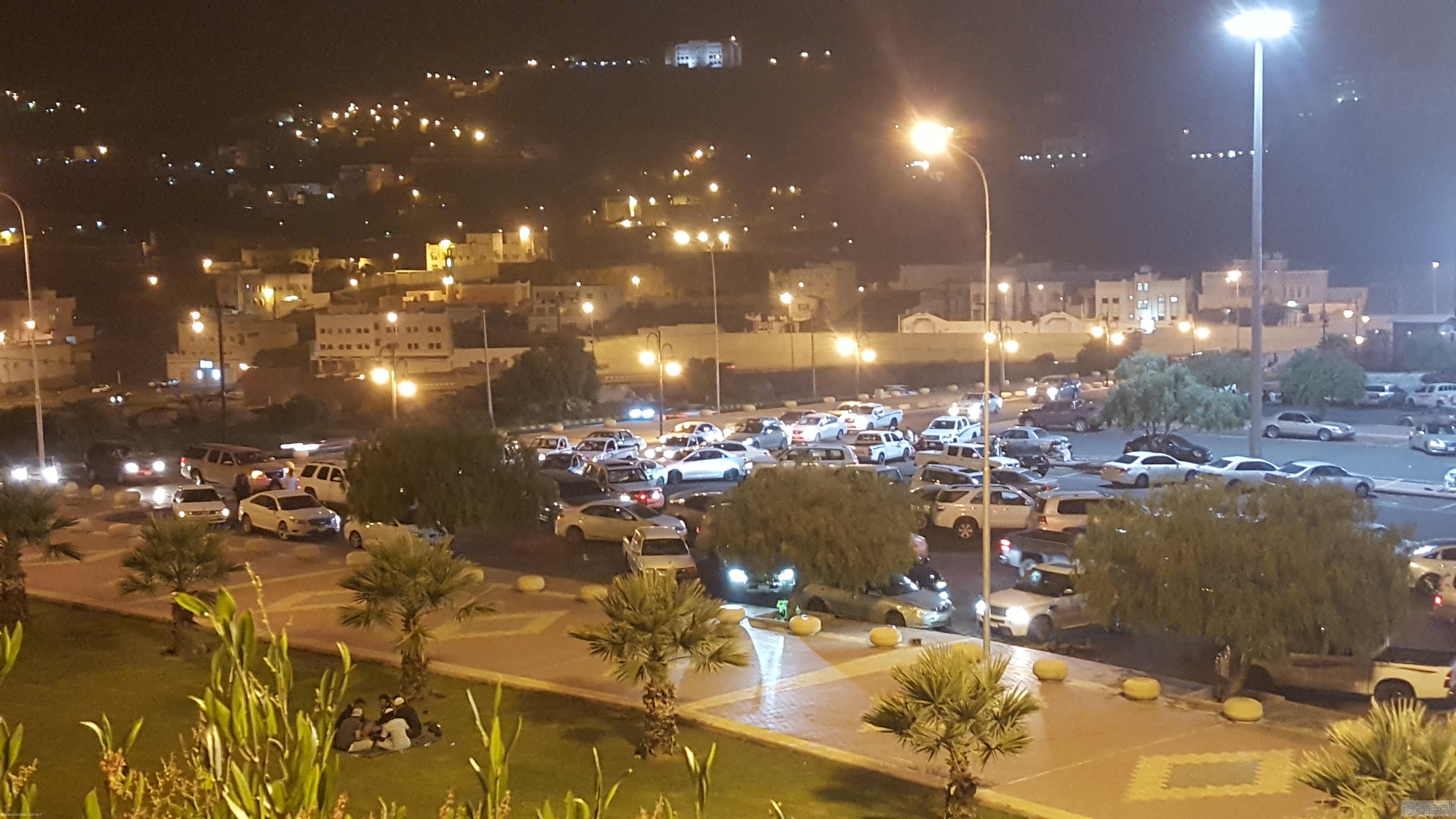 تحول ساحات البلدية في مشهد عيد ابها (2)