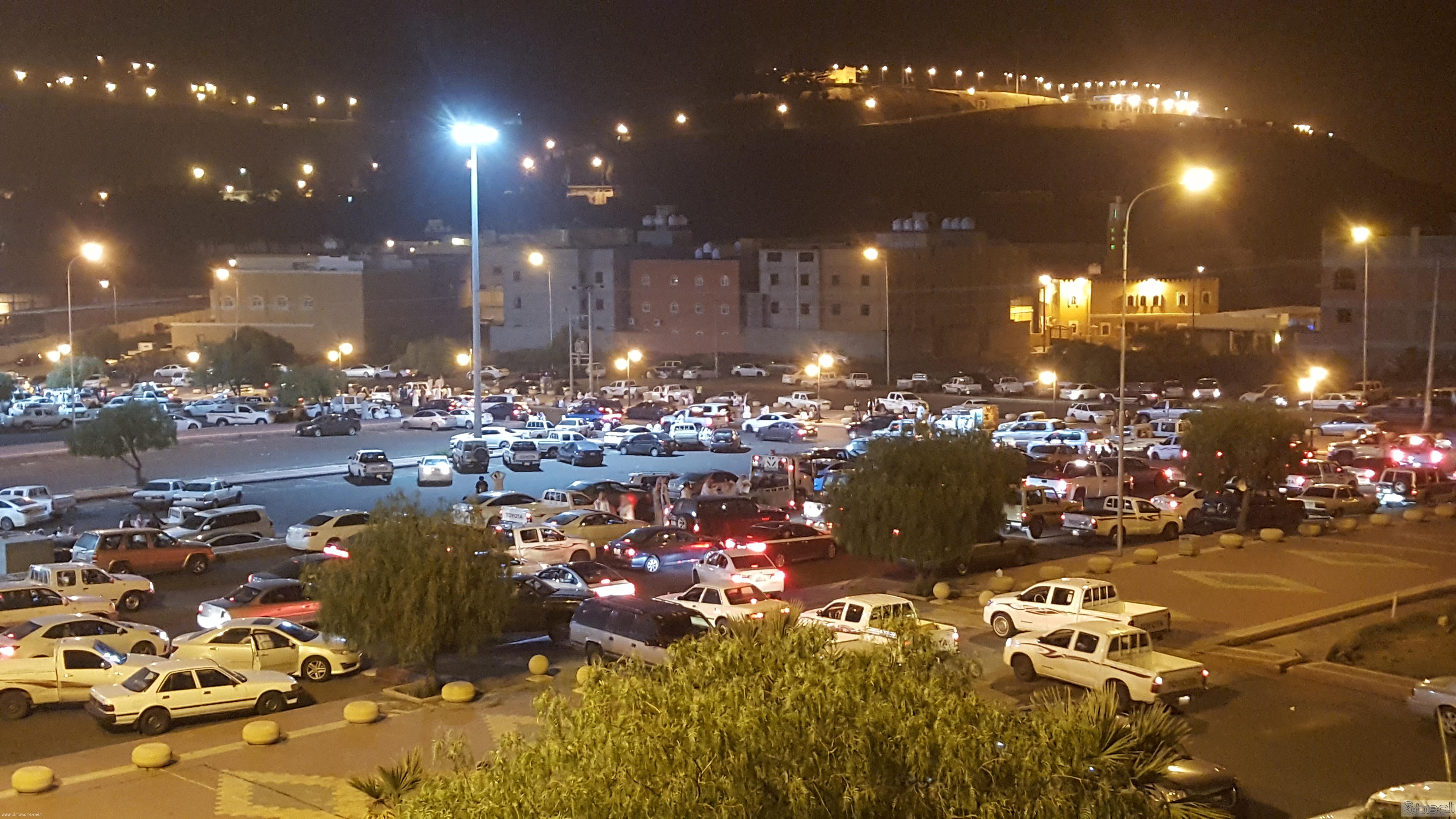 تحول ساحات البلدية في مشهد عيد ابها (4)