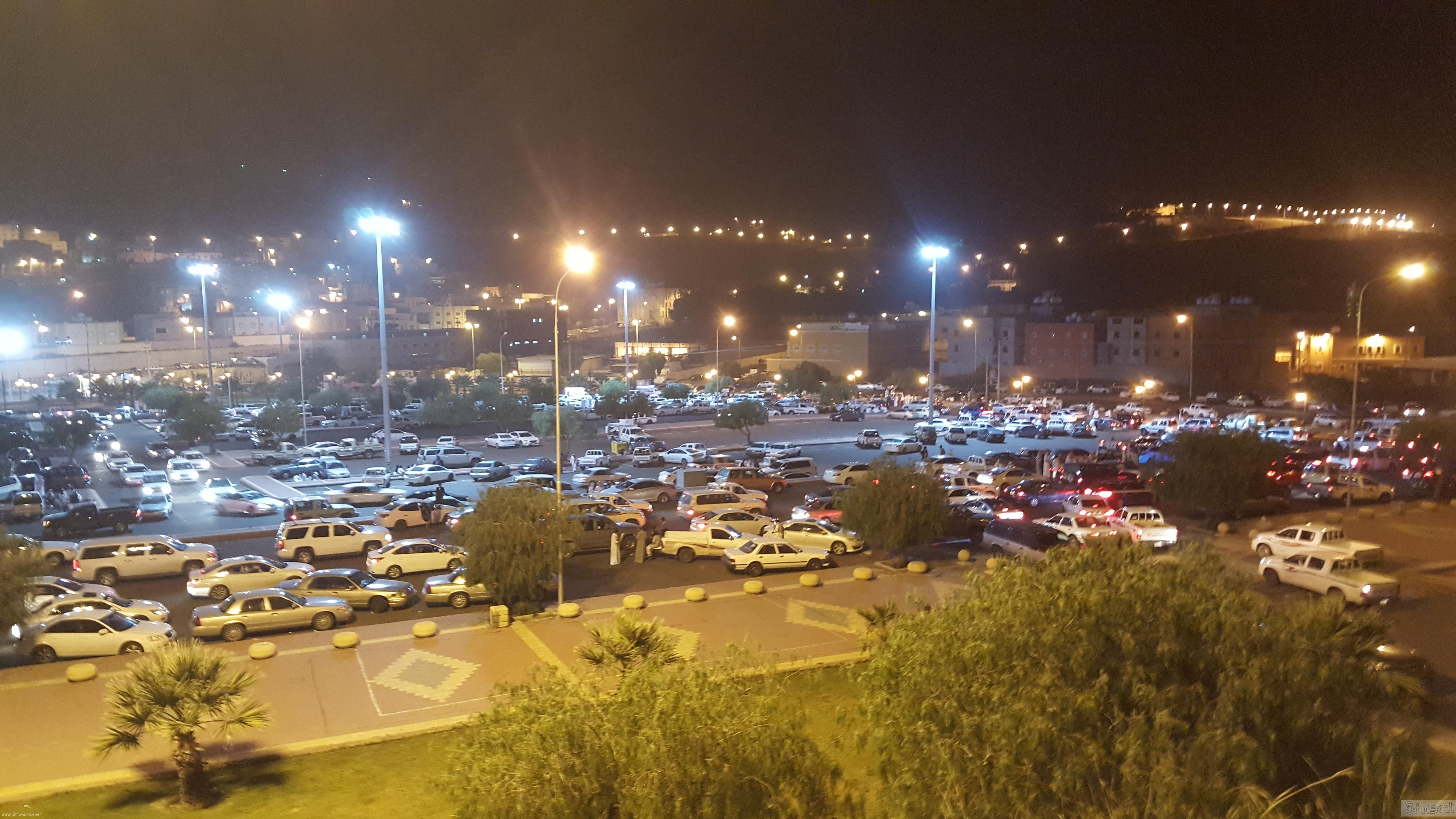 تحول ساحات البلدية في مشهد عيد ابها (5)