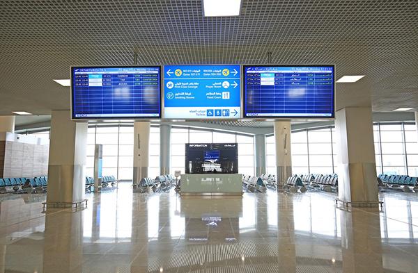 تدشين الصالة الخامسة بمطار الملك خالد والرحلات   (206965135) 