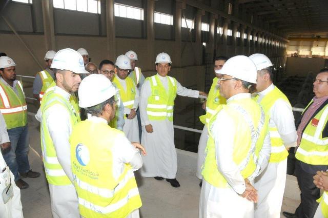 بدء التشغيل التجريبي للمرحلة الأولى من تطوير مشروع حقل آبار سعد - المواطن