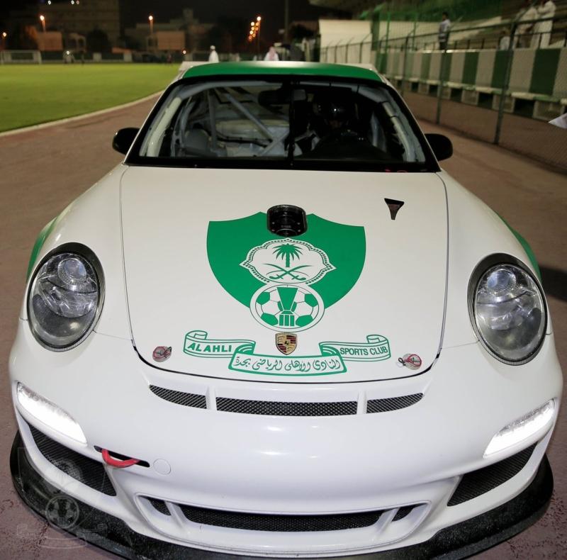 تدشين سيارة النادي الاهلي 3