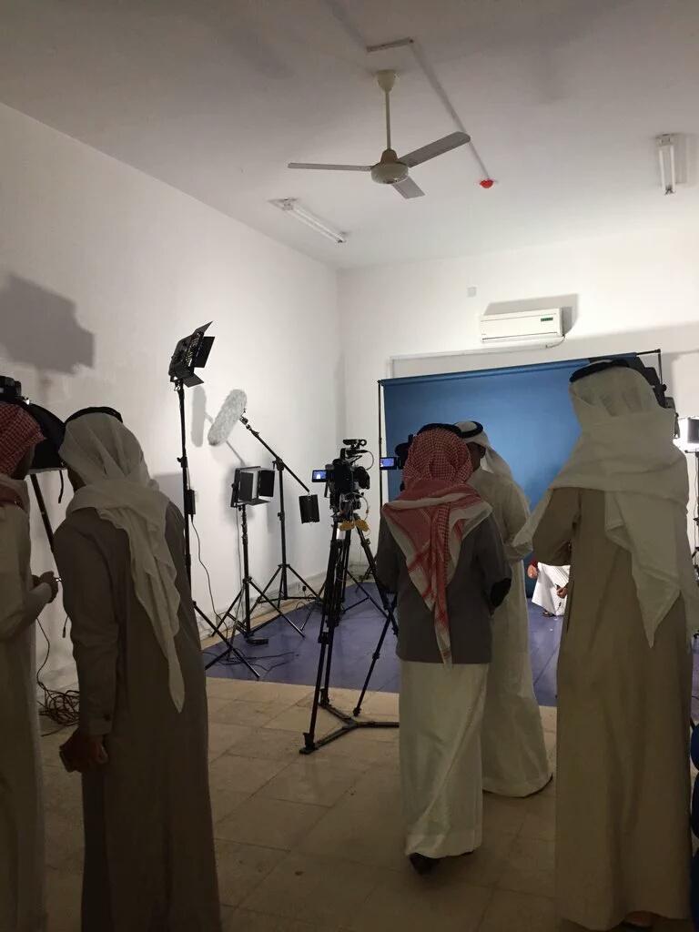 تدشين مقر وموقع نادي #وصل الإعلامي بجامعة #الباحة (1)