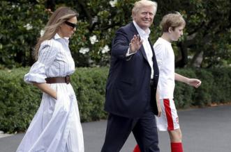 ترامب يقضي عطلة نهاية الأسبوع في كامب ديفيد لأول مرة