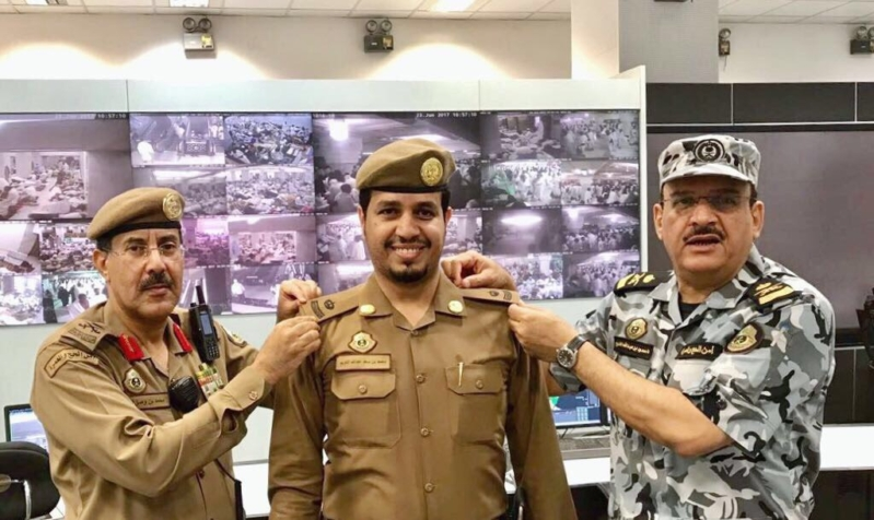 """مساعد مدير الأمن العام يقلد """"التويم"""" رتبته الجديدة"""