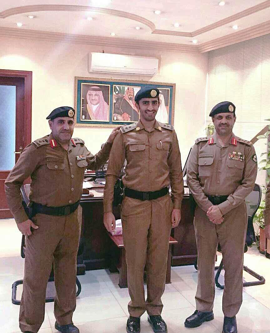 ترقية قائد وحدة مهام مرور #الرياض إلى ملازم أول (1)