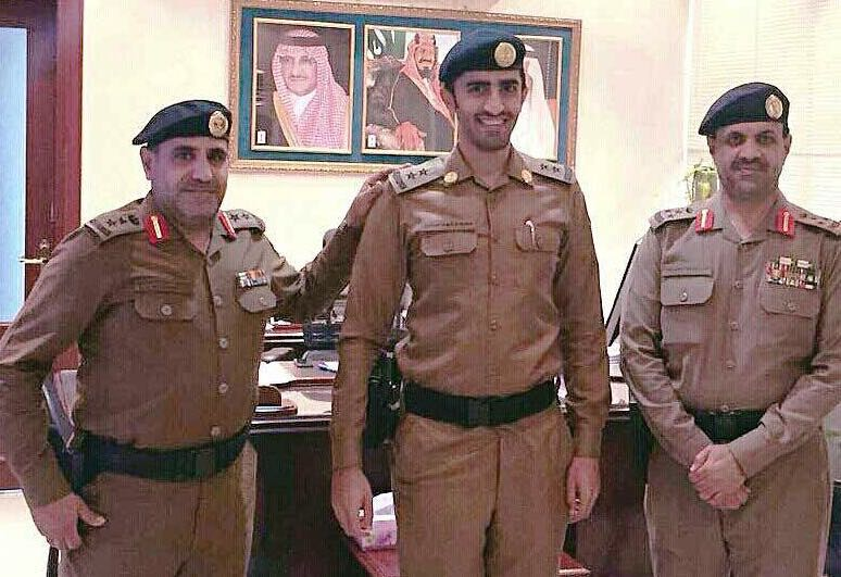 ترقية قائد وحدة مهام مرور #الرياض إلى ملازم أول (2)