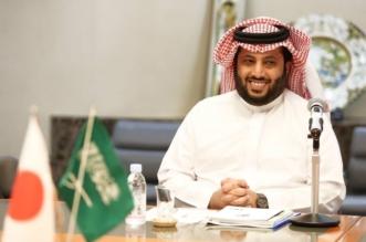 تركي آل الشيخ ومرزوق الغانم