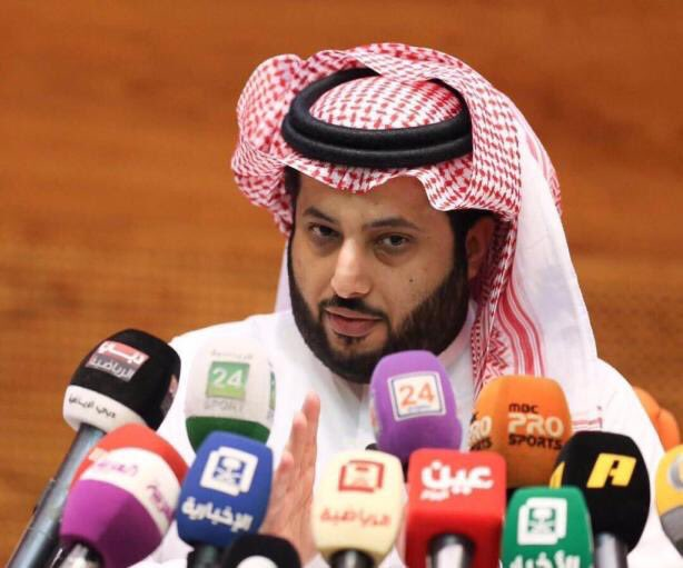 بث مباشر لمؤتمر رئيس هيئة الرياضة تركي آل الشيخ