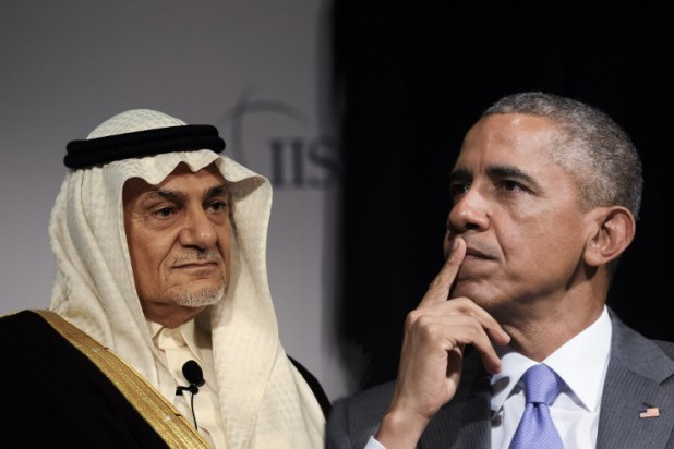 تركي الفيصل واوباما