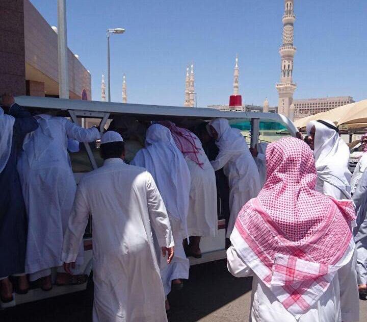 تزاحم تشييع جثمان الشيخ ايوب (11)