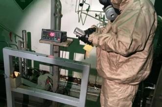 بالصور.. مدني الدمام يباشر تسرب غاز بالصناعية الأولى - المواطن