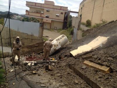 تسرّب غاز في محافظة المندق