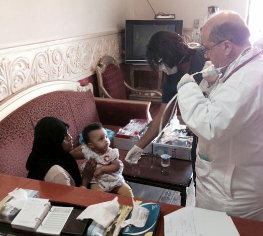 تشكيل 7 فرق طبية مجهزة لتقديم الرعاية الطبية للاثيوبيين
