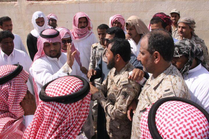 تشييع جثمان الشهيد أحمد العسيري بحميد العلايا (1)